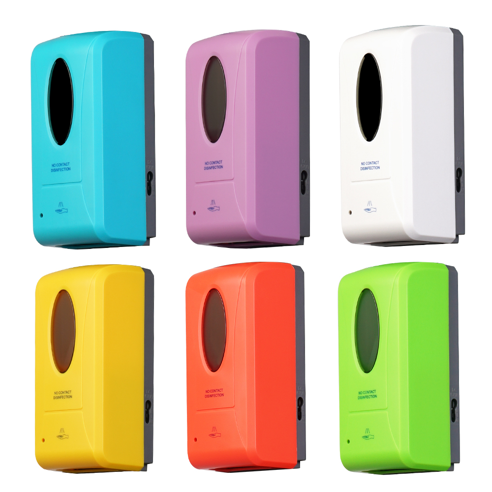 Muliticolor automatic soap dispenser